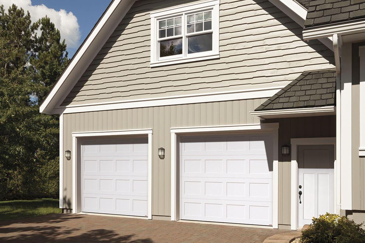 porte garage classique